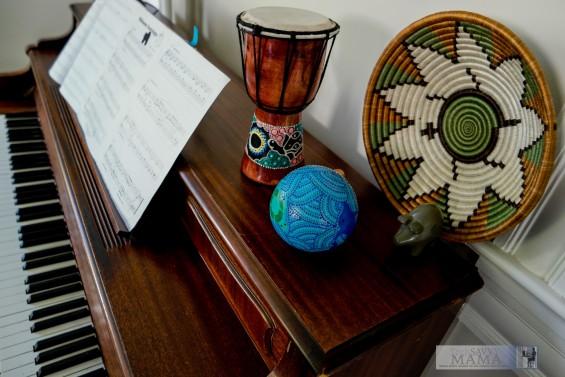 Macy's Rwanda Path to Peace Brown and Green Fruit Basket