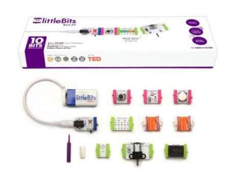 littleBits featured on TechSavvyMama.com's 2015 Best Gifts for Early Elementary Ages (ages 5-8 or grades K-2)