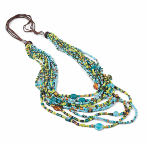 World Vision Balinese Multi-Strand Necklace Giveaway on TechSavvyMama.com