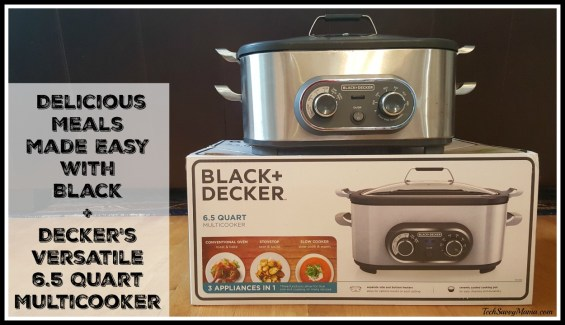 Delicious Meals Made Easy with Black and Decker's 6.5 Quart Multicooker