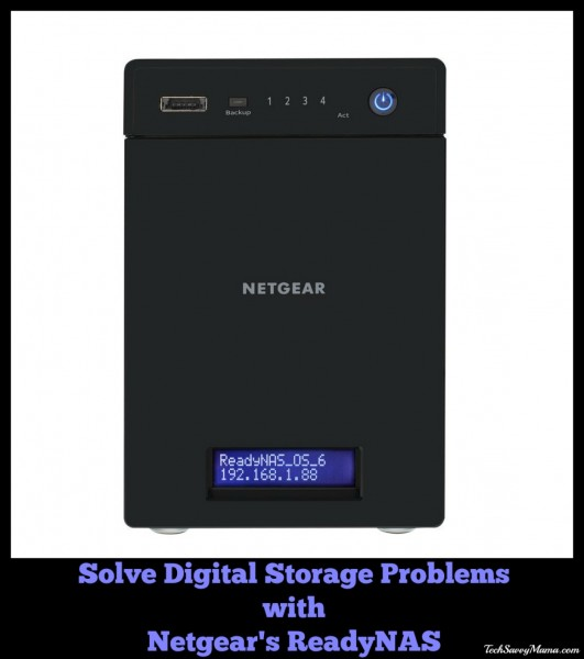 Solve Digital Storage Problems with Netgear ReadyNAS - Tech