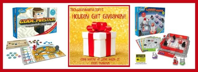 ThinkFun Laser Maze Jr and Code Master Giveaway on TechSavvyMama.com