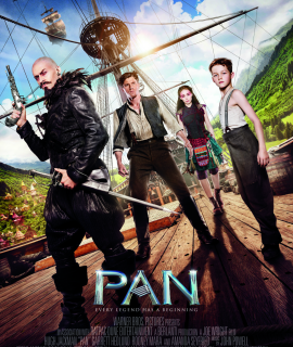 Pan: Untold Story of Peter Pan on Blu-ray Featuring Dolby Atmos (w flash giveaway)