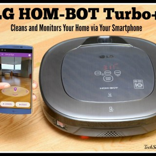 LG HOM-BOT Turbo+ Cleans & Monitors Your Home via Your Smartphone #CES2016