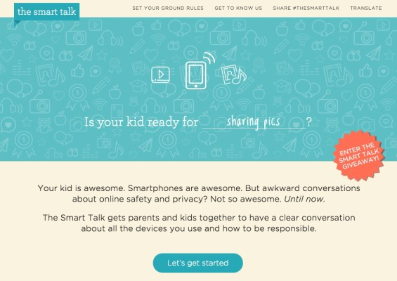 Having #TheSmartTalk to Establish Ground Rules About Technology Use Together on TechSavvyMama.com