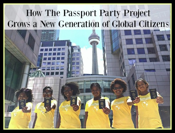 How The Passport Party Project Grows a New Generation of Global Citizens on TechSavvyMama.com
