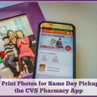 How to Print Photos for Same Day Pickup Using the CVS Pharmacy App #MyCVSApp
