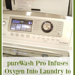 Review: pureWash Pro Infuses Oxygen Into Laundry to Effectively Wash Clothes Detergent Free (w giveaway)