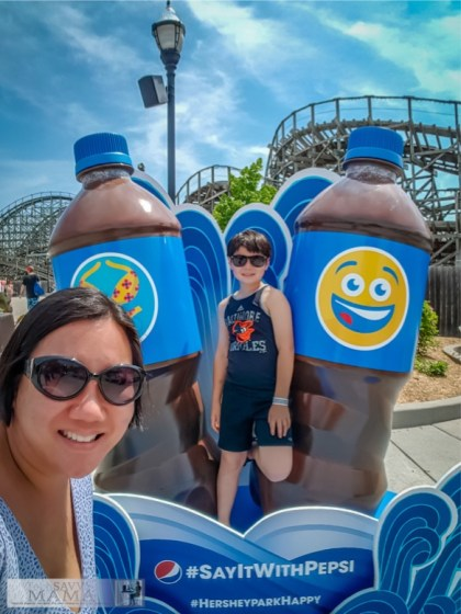 9 Reasons to Visit Hersheypark: Fun Photo Opportunities and 8 more reasons on TechSavvyMama.com