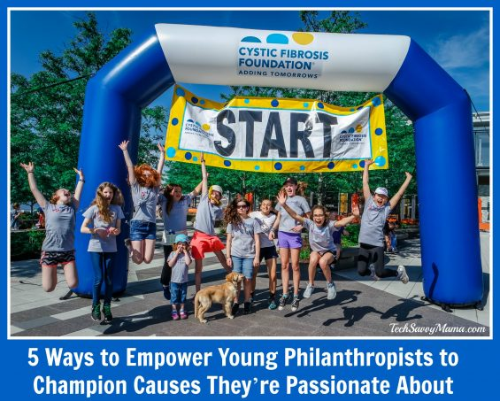 5 Ways to Empower Young Philanthropists to Champion Causes They're Passionate About on TechSavvyMama.com