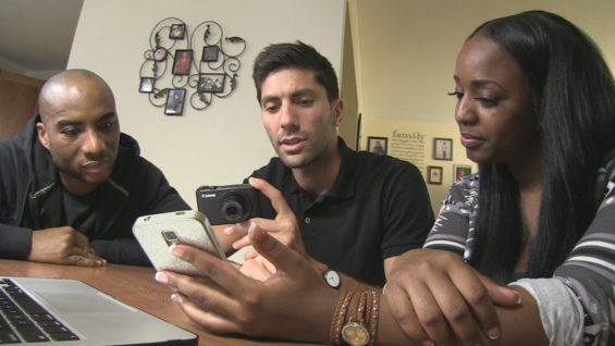 Guest Host Charlamagne with Nev and Miracle from Season 4, Episode 1