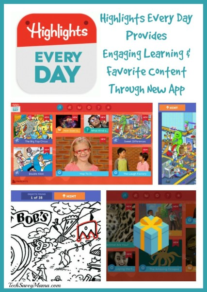 Highlights Every Day Provides Engaging Learning & Favorite Content Through New App on TechSavvyMama.com