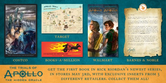 The Trials of Apollo by Rick Riordan #TrialsofApollo