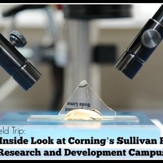 Virtual Field Trip- Inside Look at Corning's Sullivan Park Research and Development Campus on TechSavvyMama.com