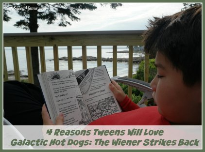 4 Reasons Tweens Will Love Galactic Hot Dogs-The Wiener Strikes Back. Review and giveaway on TechSavvyMama.com