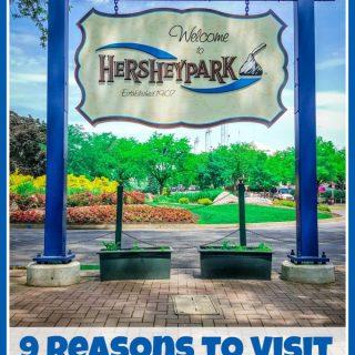 9 Reasons to Visit Hersheypark on TechSavvyMama.com #HersheyParkHappy #PepsiatthePark #sponsored