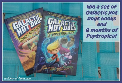 Galactic Hot Dogs Book Set and Poptropica Giveaway on TechSavvyMama.com