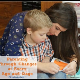 Parenting Through Changes at Every Age and Stage #BringingUpBates
