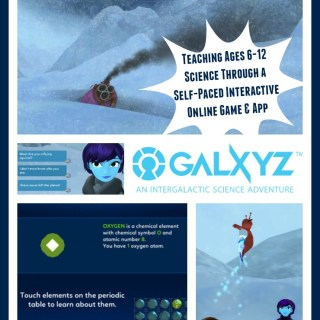 Galxyz Teaches Tweens Science Concepts Through Self-Paced Interactive Online Game & App