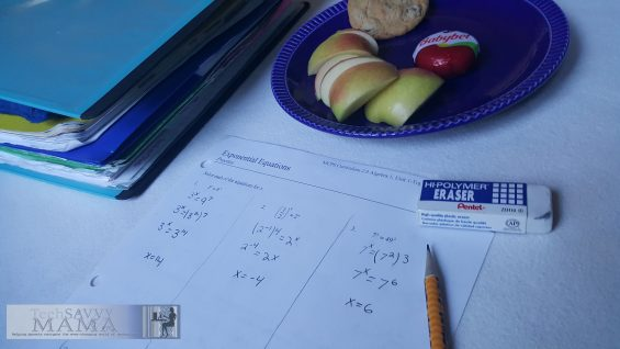 How to Create Effective Routines to Teach Middle School Study Habits at Home on TechSavvyMama.com