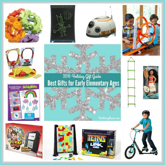 2016 Gift Guide: Gifts for Early Elementary Ages (grades K-2 or ages 5-8) on TechSavvyMama.com