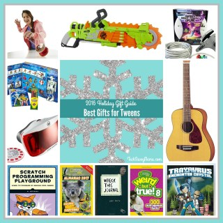 2016 Gift Guide: Best Gifts for Tweens (ages 8-12)