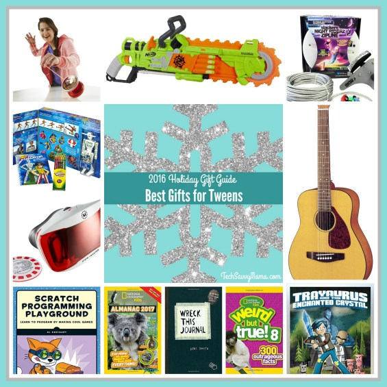 2016 Gift Guide: Best Gifts for Tweens (ages 8-12) on TechSavvyMama.com