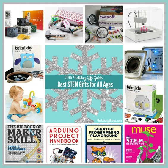 2016 Gift Guides: Best STEM Gifts for All Ages on TechSavvyMama.com