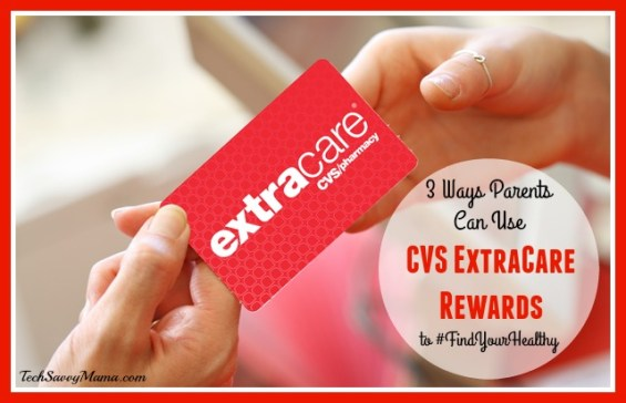 3 Ways Parents Can Use CVS ExtraCare Rewards to #FindYourHealthy During Cold and Flu Season on TechSavvyMama.com