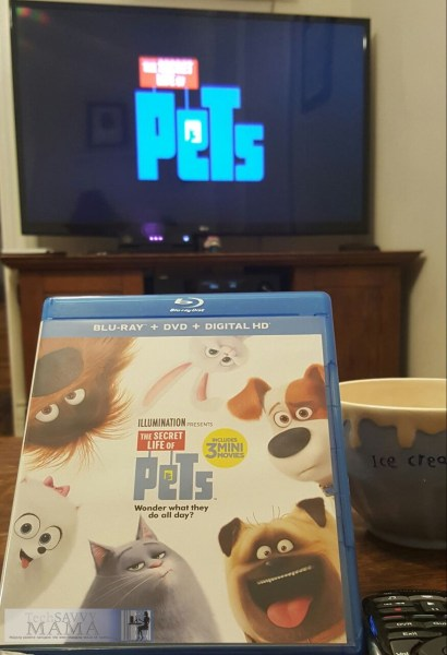 5 Steps to Having a Fun Family Movie Night with The Secret Life of Pets on TechSavvyMama.com