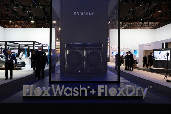 Samsung Flex Wash + Flex Dry: 1 of 7 Smart Home Connected Products from #CES2017 Worth Knowing About on TechSavvyMama.com