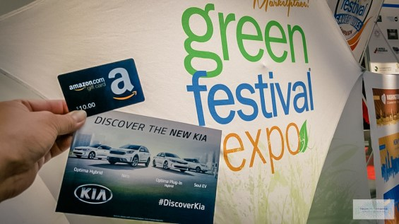 Amazon gift card for driving Kia EcoDynamic vehicles