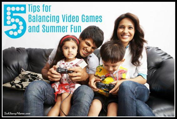 Balancing Video Games and Summer Fun