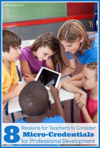 All About Micro-Credentials for Teacher Professional Development