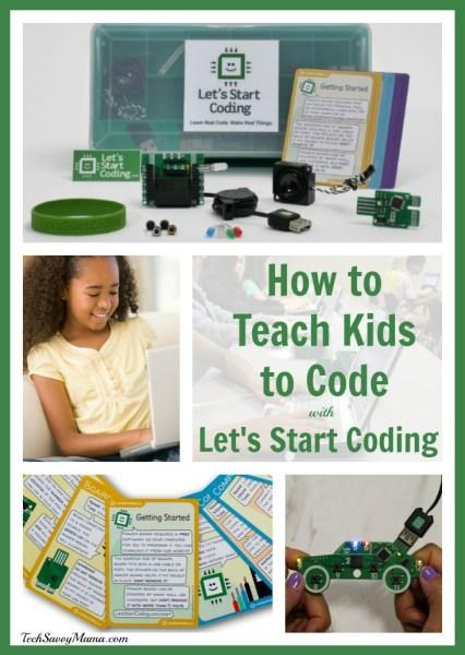 Let's Start Coding: Hands-On Kit Teaches & Inspires Kids to Code