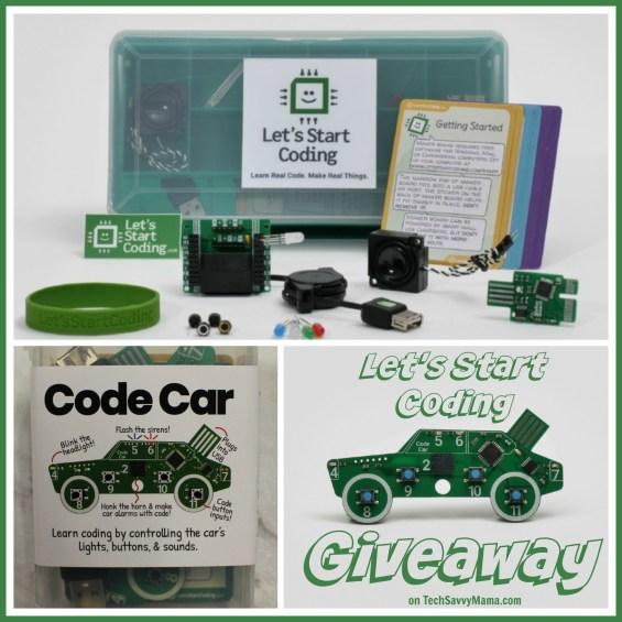 Let's Start Coding Giveaway