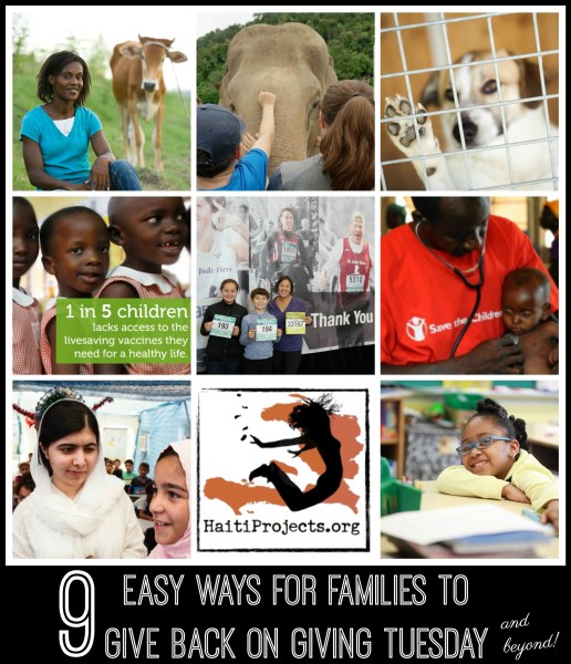 Easy Ways for Families to Give Back on Giving Tuesday