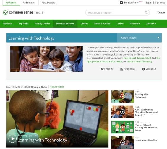 kids and tech