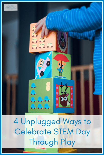 Unplugged Ways to Celebrate STEM Day