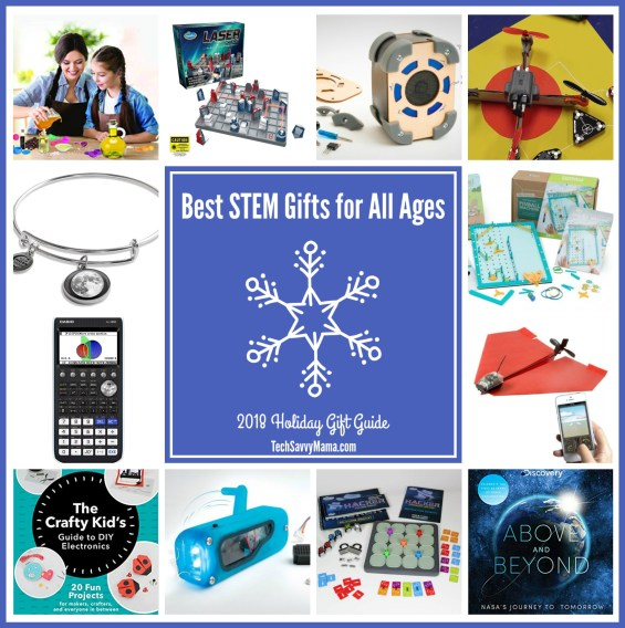 2018 Gift Guide: Best STEM Gifts for Kids of All Ages (w. giveaway)