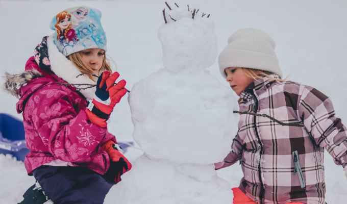 7 Tips for Getting Kids Play Outside in the Winter (w YakTrax giveaway)