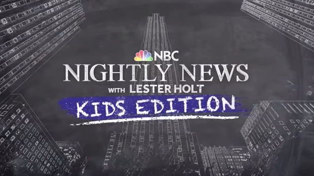Nightly News: Kids Edition Addresses Questions We Can't Always Answer
