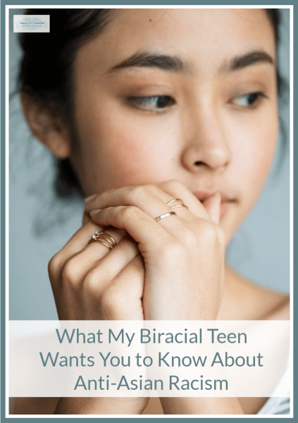 anti-Asian racism as a biracial teen