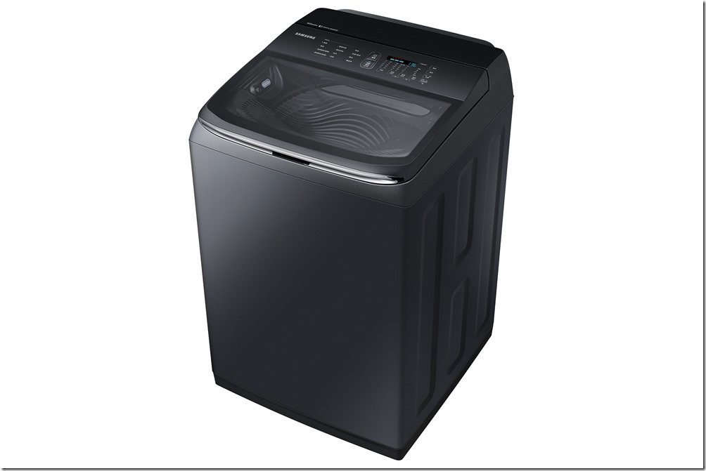 三星智慧觸控系列直立式洗衣機WA20R奢華黑-2