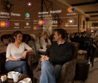 Augmented Reality in Action in 2011 - Social Networking