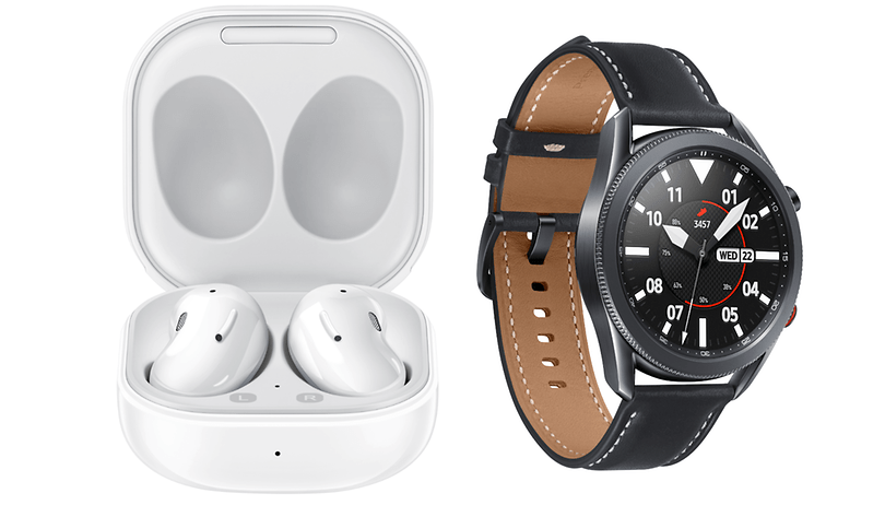 Galaxy Watch3 and Galaxy Buds Live Now Available