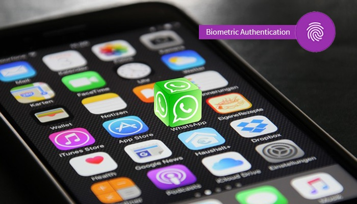 WhatsApp Biometric Authentication And Face ID Authentication