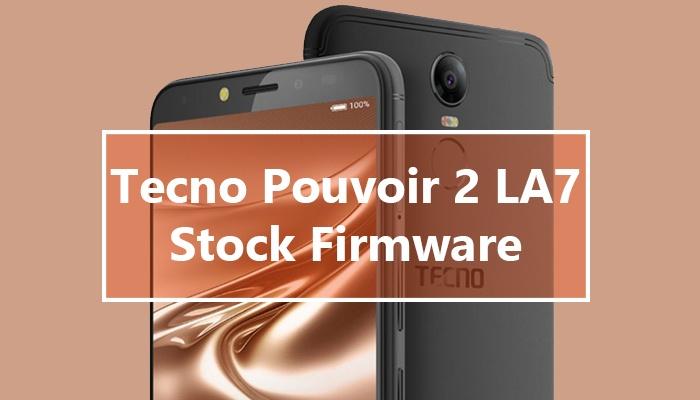 Tecno Pouvoir 2 factory firmware