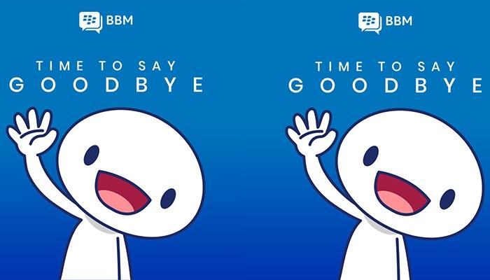 Blackberry Messenger (BBM) is shutting down May 31st