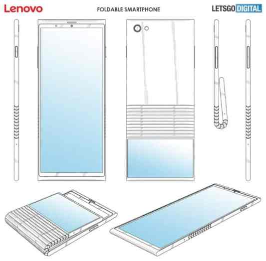 Lenovo's Foldable Smartphone